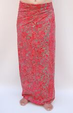 NEW PREMIUM QUALITY RED/PINK SARONG PAREO BEACH POOL WRAP COVER UP BNIP / sa361P