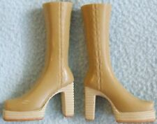 BRATZ Doll Clothes - Tan Colour Platform BOOTS Shoes