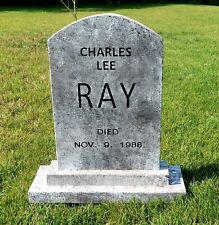 Charles Lee Ray CHUCKY Tombstone Childs Play Halloween Prop Michael Myers Judith