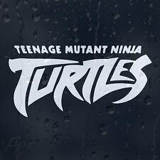 Teenage Mutant Ninja Turtles Logo Car Decal Vinyl Sticker For Window Or Bumper