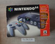 Boite VIDE de console Nintendo 64 - Pack Classique - PAL FR
