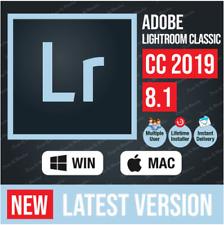 Adobe Lightroom Classic CC8.1