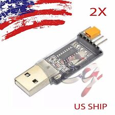 2X USB To RS232 TTL CH340G Converter Module Adapter STC replace Pl2303 CP2102
