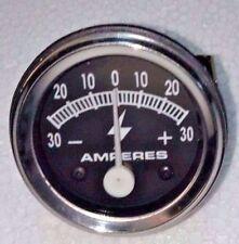 30 Amp Amperage Alternator Ammeter Gauge Farmall IH Ford Chevy Dodge John Deere