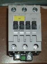 Siemens Leitungsschütz  3TF3500-0A Power Contactor 24V AC