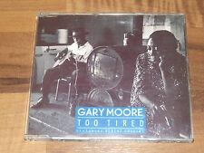 Garry Moore CD Too Tired Featuring Albert Collins 1990 Virgin Records