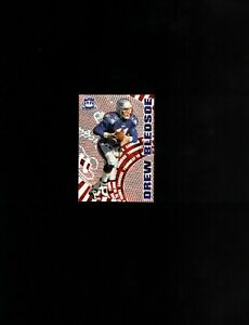 1997 Pacific Dynagon Careers Silver Parallel #8 Drew Bledsoe! New England Pats!