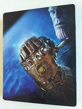 Avengers Infinity War Steelbook 3D Bluray + 2D Bluray