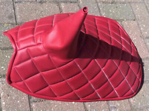 AUSTIN A35 QUILTED GEARBOX COVER IN VINYL HAND MADE IN UK BY US MANY COLOURS