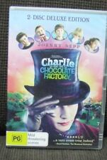 CHARLIE AND THE CHOCOLATE FACTORY  - DVD -  2 disc deluxe edition - Johnny Depp