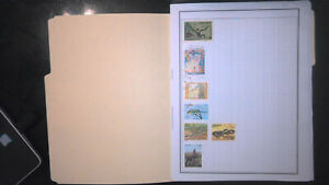 VIETNAM COLLECTION ON ALBUM PAGES, MINT/USED