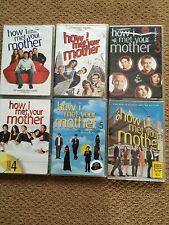 How I Met Your Mother Seasons 1-6, NIB SEALED DVD Set