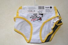 2 culottes blanche et grise neuves marque Hello Kitty taille 10-12 ans