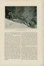 1906 Magazine Article Hunting Ibex in India Baltistan Mountains Shooting Goats