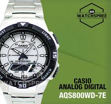 Casio Analog Digital Tough Solar Watch AQS800WD-7E AQ-S800WD-7E