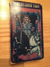 Vintage 1979 Morgan Greer Tarot Cards Complete Set USED with instructions