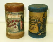 Lot 2 Columbia Phonograph Cylinder Records 32119 & 9159 Woman