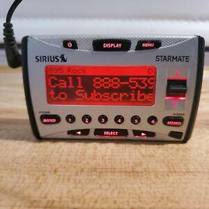 Sirius SiriusXM Starmate ST1 Sirius Car & Home Satellite Radio Receiver - Tested