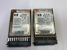 "2 x HP 146GB 10K SAS 2,5"" Hot Swap Festplatte EG0146FAWHU - mit Rechnung"
