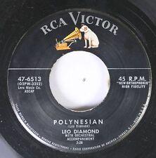 50'S & 60'S 45 Leo Diamond - Polynesian / Du Bist Schoen Wie Musik On Rca Victor