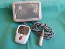 Raro Microfono Originale Vintage d'epoca GRUNDIG GDM12 Custodia Registratori MIC