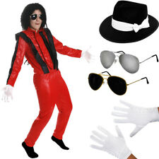 CHILD KING OF POP COSTUME HAT GLASSES GLOVES FANCY DRESS POP STAR KIDS JACKO