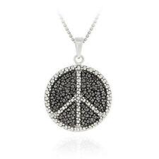 """Round 18 - 19.99"""" I3 Fine Diamond Necklaces & Pendants"""