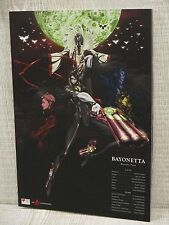 Bayonetta Bloody Fate película ilustración de arte Libro Folleto Ltd