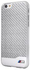 BMW M Carbon & Aluminum Collection Hard Case for iPhone 6 Plus/6s Plus - Silver