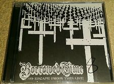 BORROWED TIME - NO ESCAPE FROM THIS LIFE CD (SEALED) NYHC SXE TERROR HATEBREED