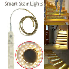 Smart Stair Lights Turn On When You Walk On Them Night Induction Stair Light