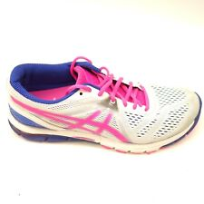 Asics Gel-Excel 33 T460N Sz 9.5 White Athletic Running Training Womens Shoes