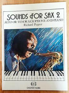 Richard Pepper: Sounds for Sax 2 (Music Book)