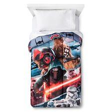 Star Wars The Force Awakens Microfiber Twin Comforter - New