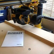 Radial arm saws in condition21 branddewalt ebay dewalt radial arm saw dw 720 brand new replacement table tops 18mmfree postage greentooth Choice Image
