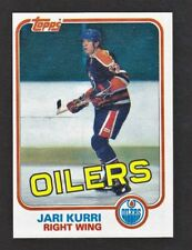 1981-82 Topps #18 Jari Kurri RC Rookie Card -