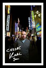 KARL PILKINGTON AUTOGRAPHED SIGNED AND FRAMED  POSTER PHOTO