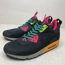 Nike Air Max 90 Men size 11 Sneakerboot NS Gridiron Black Pink Volt 616314-008