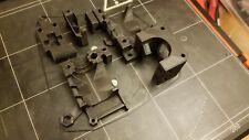 3D Printer Extruder Printed Parts i3 MK2 MK2S Prusa Transparent Black PETG
