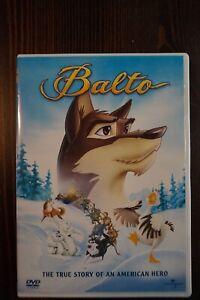 BALTO (1995) DVD R1 Steven Spielberg, Kevin Bacon, Bridget Fonda OOP!