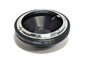 C Mount to Canon FD Lens Adapter Canon FD Lens - C Mount Cine Camera Body