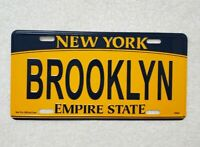 BROOKLYN New York License Plate-NYC Official Size Embossed Souvenir Travel Gift