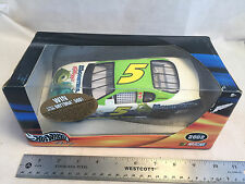 2002 Hot Wheels Racing Terry Lebonte #5 Monster's Inc Chevy NASCAR 1:24 Scale