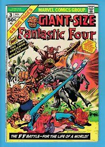 GIANT-SIZE FANTASTIC FOUR # 3 FN (6.0) 1st FOUR HORSEMEN OF THE APOCALYPSE_CENTS