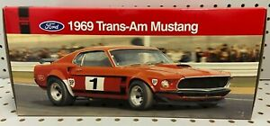 WELLY 1:18 Ford Trans-Am Mustang 1969 Boss 302 Red Diecast Model Sealed NEW