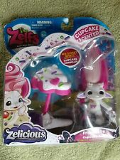 """Zelf Frostette Cupcake Moose Toy Mip 2.5"""" Sealed Flaw To Pkge Scent Elf Doll"""
