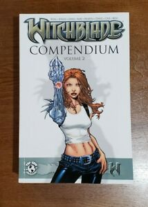 Witchblade Compendium Vol. 2 TPB GN OOP NEW 2008 Image Top Cow Johns, Marz, Wohl
