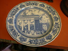 "1931 YALE - Wedgewood Collector Plate  ""Walter Camp Memorial Gateway 1928"""