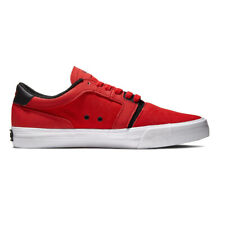 "Supra ""Lizard"" Shoes (Risk Red/White) Men's Canvas Skateboarding Sneakers"