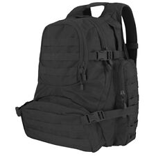 NEW CONDOR 147-002 Black Tactical MOLLE Urban Patrol Hiking Backpack Pack Go Bag